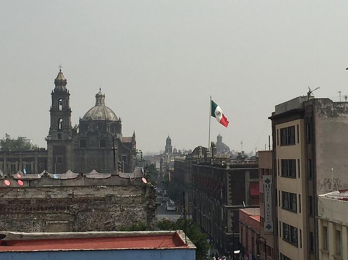 vista-terraza Ciudad de Mexico